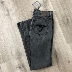 BNWT Frankie B skinny jeans. Size 0. Gray